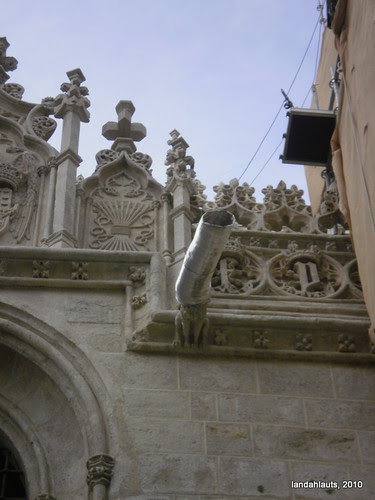 Crestería y Pináculos de la Capilla Real