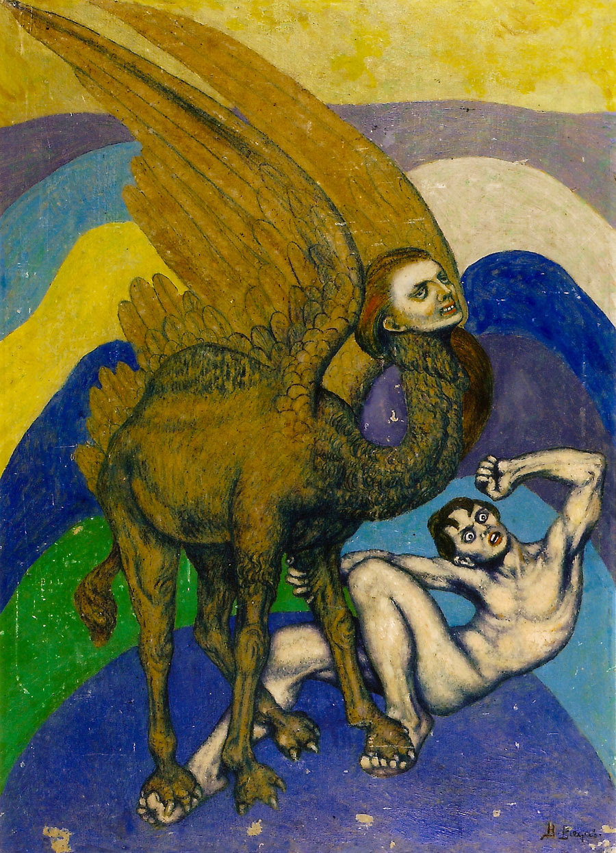 Boleslaw Biegas - The First Metamorphosis Vampire, 1917