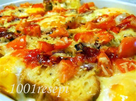 koleksi  resepi simple bread  eggs quiche