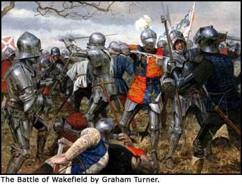 The Battle of Wakefield (Dec. 31, 1460)