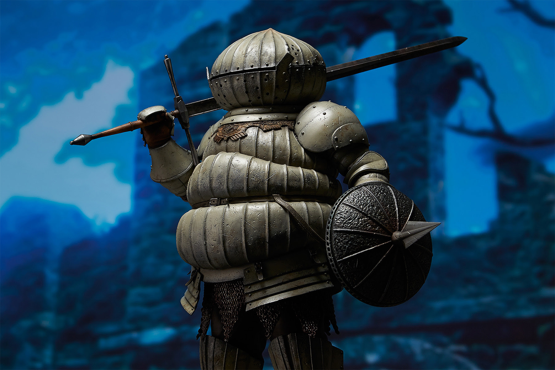 This Dark Souls figure is kind of cute screenshot