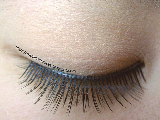 eye after lashes closed