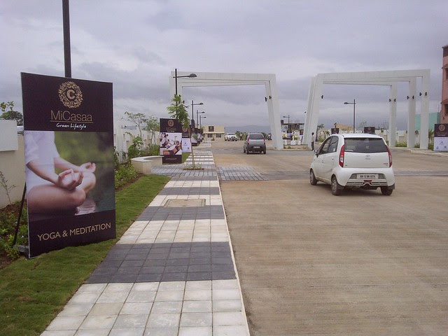 Approach Road of MiCasaa 1 BHK 1.5 BHK 2 BHK Flats opposite Ayurvedic College Kesnand Road Wagholi Pune 412 207