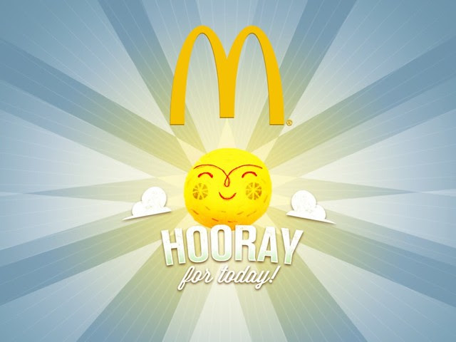 Hooray for Today McDonald's