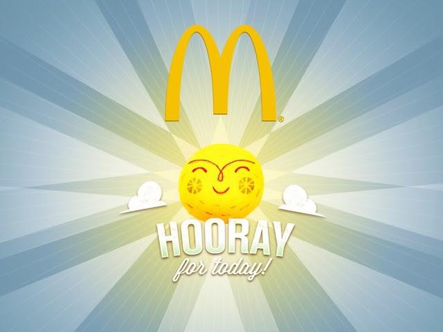 Hooray for Today McDonald's