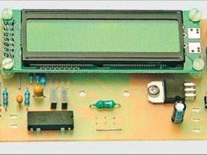 Đồng hồ đo LC kỹ thuật số với màn hình LCD 2X16 với PIC 16F628