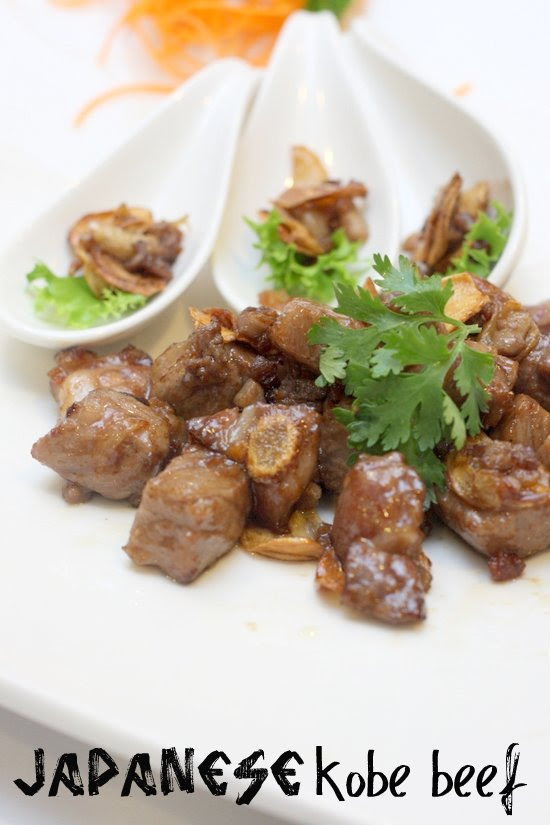 Japanese Kobe Beef Chinese style