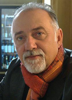Giorgio Faletti al Lucca Comics and Games nel 2009