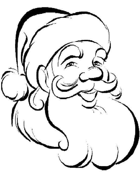 Simple Santa Drawing At Getdrawingscom Free For Personal Use