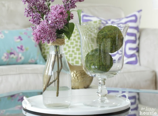 Living Dining Room Tour at The Happy Housie for Savvy Southern Style 11
