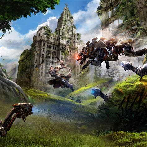 wallpaper ravager aloy horizon  dawn liverpool