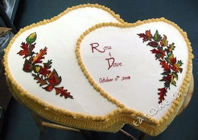 Double Heart Shaped Cake   Cakeworks' Blog