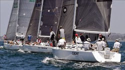 J/120s sailing at Long Beach Race Week