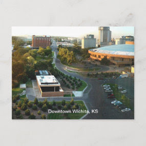 Performing Arts Downtown Wichita, Kansas Post Cards