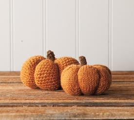 Spice & Clove Knit and Crochet Pumpkins free pattern