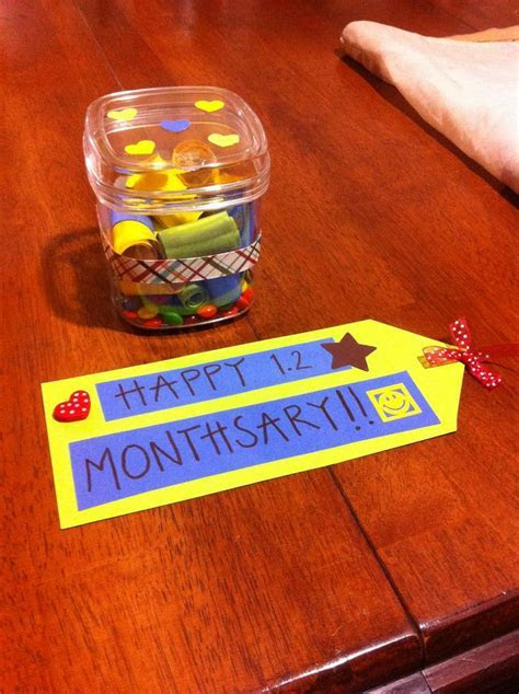 Monthsary Gift   Monthsary   Pinterest   Gifts
