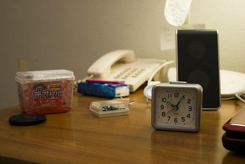 new clock and air freshener