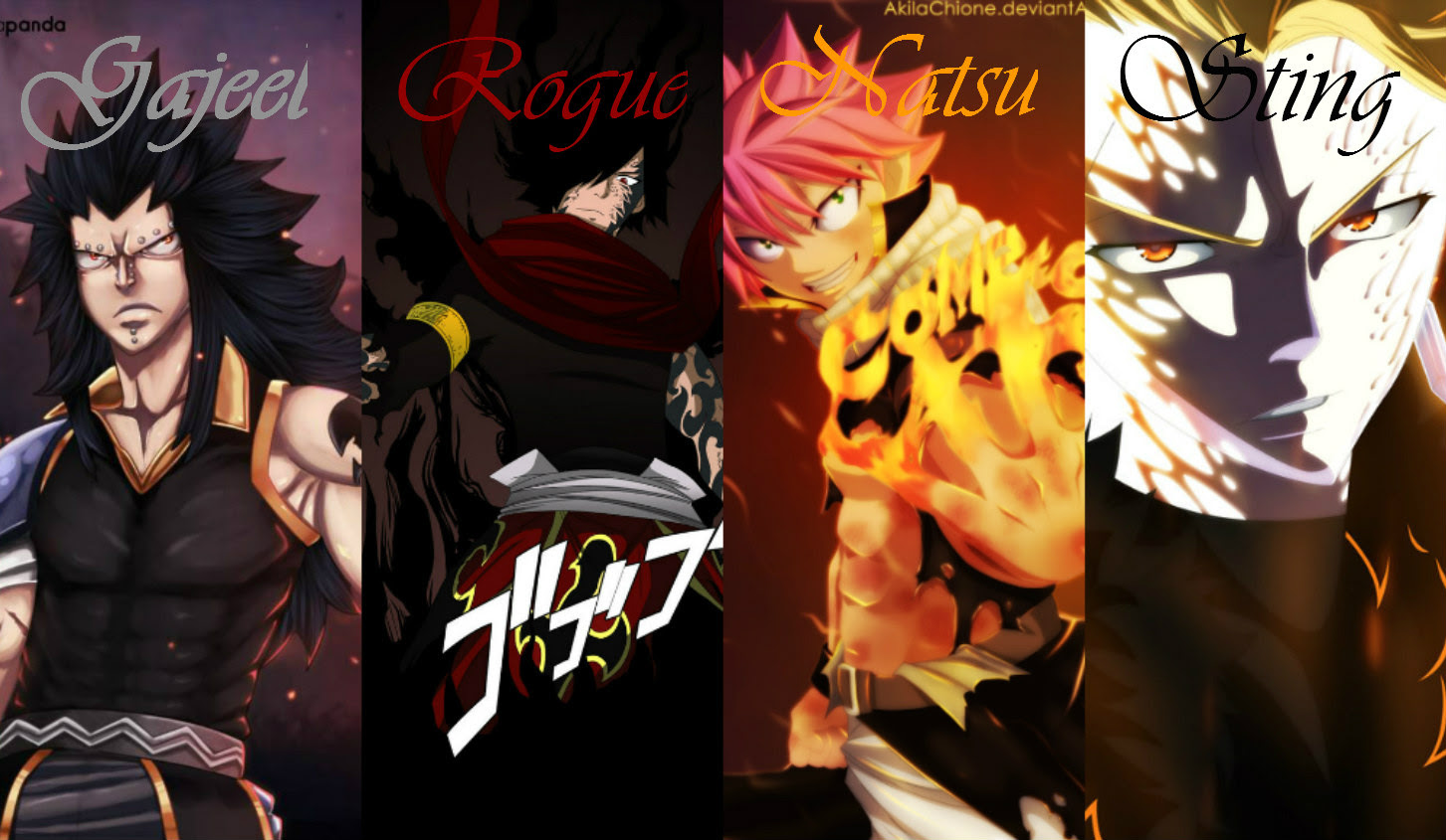The 4 Dragon Slayers Fairy Tail Fotografia 39332706 Fanpop