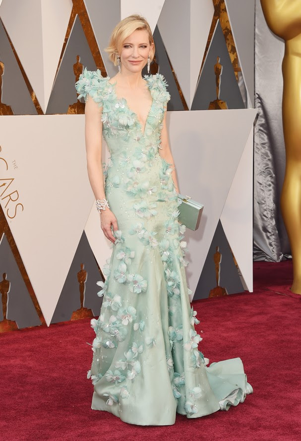 Cate Blanchett no Oscar 2016 (Foto: Getty Images)
