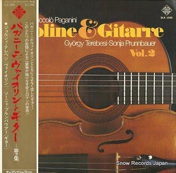 TEREBESI, GYORGY / SONJA PRUNNBAUER paganini; violin&guitar vol.2