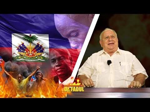 El Dr. Fadul explica el porqué del conflicto en Haití