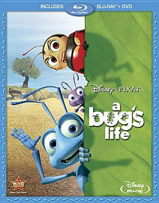 Cover image for A bug's life [DVD] / Walt Disney Pictures presents ; a Pixar Animation Studios film ; directed by John Lassetter ; co-directed by Andrew Stanton ; produced by Darla K. Anderson, Kevin Reher ; original story by John Lasseter, Andrew Stanton, Joe Ranft ; screenplay by Andrew Stanton, Donald McEnery & Bob Shaw.