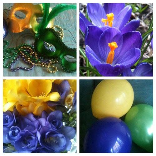 Mardi Gras Colours by Ayala Moriel