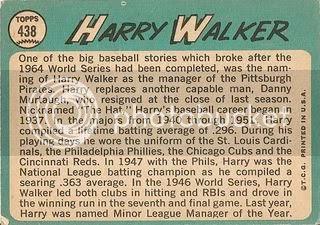 #438 Harry Walker (back)