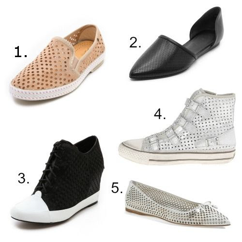 Perforated Leather Trend - Perforated Leather Shoes