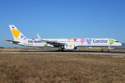 Condor Flugdienst Boeing 757-330 D-ABON (msn 29023) (50th Anniversary) PMI (Ton Jochems). Image: 912753.