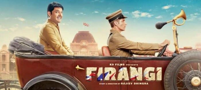Firangi film poster starring Kapil Sharma Poster