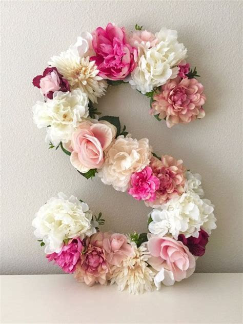 Best 25  Flower letters ideas on Pinterest   Letter