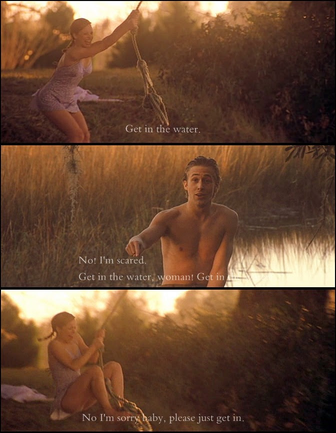Fuck Yeah Movie Quotes!  The Notebook, 2004