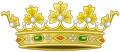 Former Heraldic Crown of Spain.svg