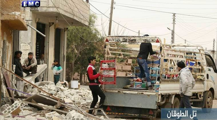 Syria, Idlib, Islamic State, ISIS, IS, Syria rebels, Syria news, World News, Indian Express