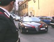 L'arresto da parte dei carabinieri (foto Proto)