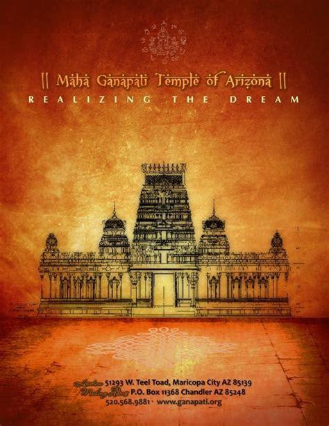 Temple Fundraising Brochure Design by ?viya Design Studio