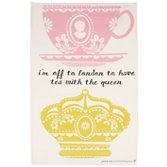 Pretty City Crown Tea Towel