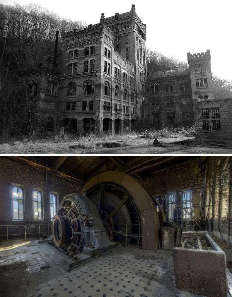 Abandoned Hasard Cheratte Coal Mine 1