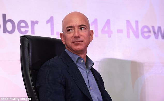 Amazon CEO Jeff Bezos has responded to an article in the New York Times saying that employees at his company regularly cry at their desks because of a vicious workplace culture. Above, he is pictured in October