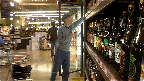 Beer Shopping at Whole Foods