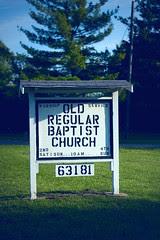 Old Regular Baptist Church