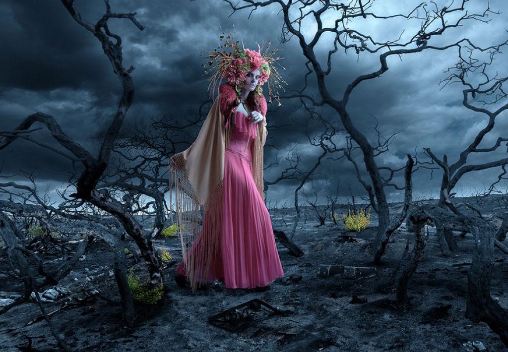 As Mortas: Belezas mortais posam em um colorido tributo ao Dia dos Mortos 05
