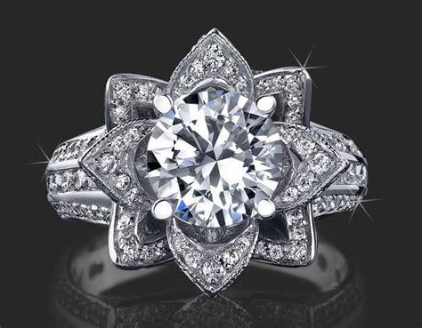 beautyful of ring: Engagement Ring Flower Designer Best
