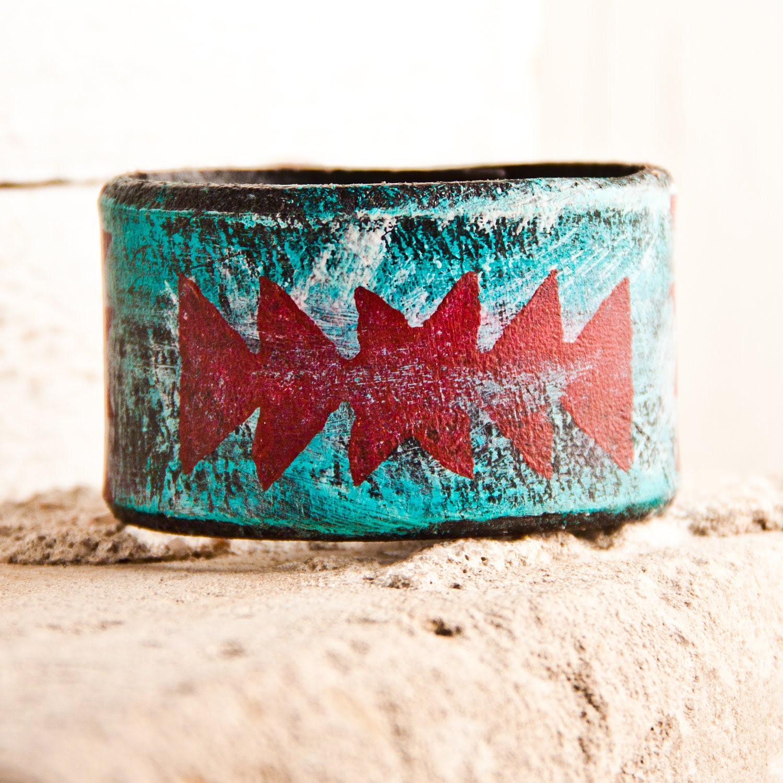 Turquoise Jewelry Native Tribal Geometric Accessories Handmade  Sale - rainwheel