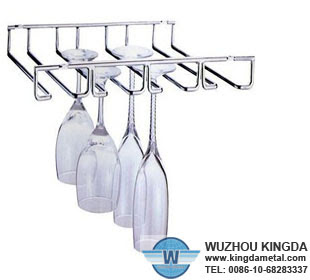 Under Cabinet Wine Glass Rackunder Cabinet Wine Glass Rack Supplier