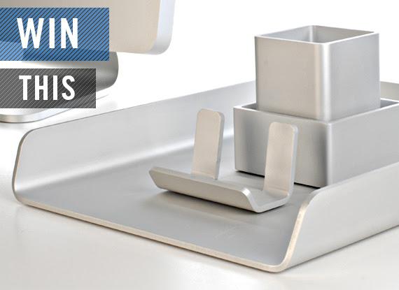 GIVEAWAY: Deskology Modern Desk Accessories   Cool Material