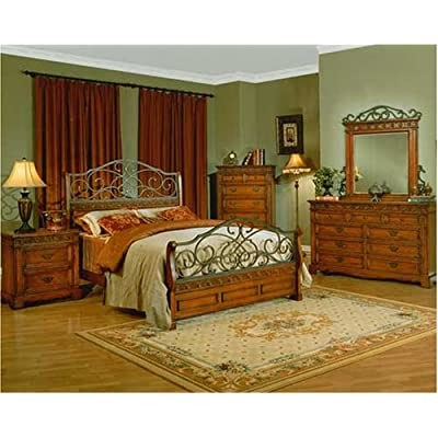 iron bedroom sets great furnitures rustic world iron wood master 11902