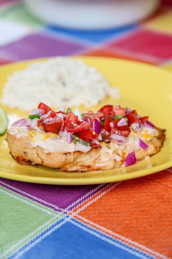 Fiesta Lime Chicken (Applebees Copycat) - Baking Beauty