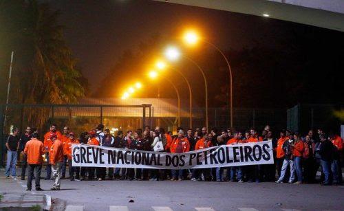 AGORA É PRA VALER! Petroleiros anunciam que estão em greve de 72 horas nas refinarias
